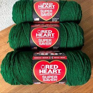 💚 NEW Red ❤️ Super Saver Bundle-3 /Hunter Green